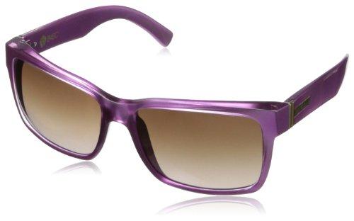 VonZipper Elmore Wayfarer Sunglasses,Pink,59.3 - Von Wayfarer Zipper