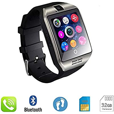 Sports Tracker New Smart Watch Clock Sync Notifier Support Gsm Sim Card Bluetooth Connectivity Android Phone Smartwatch Sport Pedometer