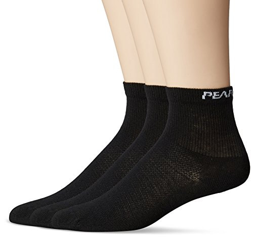 Pearl Izumi Attack Bike Socks (Pearl iZUMi Men's Attack Socks (3 Pack), Black, Large)