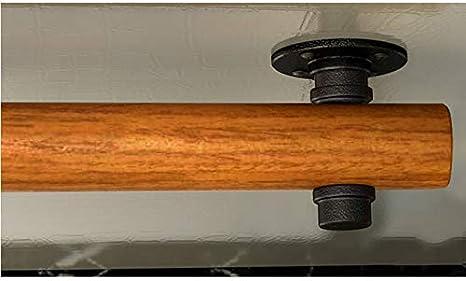 GGCG Home Pasamanos Antideslizantes para escaleras de Madera contra la Pared Loft Interior barandillas para Ancianos pasamanos Barra de Soporte Tama/ño : 30cm