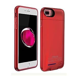 Amazon.com: Funda cargador de batería iPhone 7 Plus/6 Plus ...