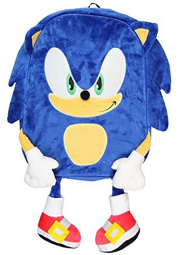Backpack Sonic - FAB Starpoint Sonic The Hedgehog Plush Full Body Blue Backpack