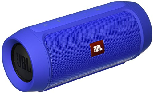 JBL Charge 2+ Splashproof Portable Bluetooth Speaker (Blue)
