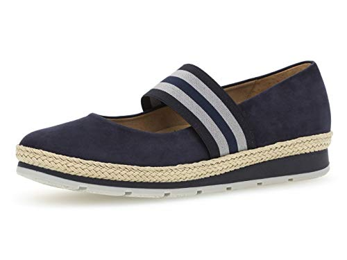 Jane 403 jute scarpe Estive Cinturino Blue mary 22 ballerine Donna sportive Gabor qPngYOBx