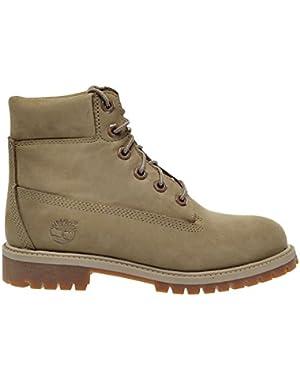 6 Inch Premium Waterproof Big Kids Boots Yellow/Tan tb0a173o