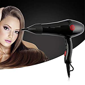 Dashingzone 2000W Professional Stylish Hair Dryers For Womens And Men Hot And Cold Dryer with Thin Styling Nozzler, Blow…