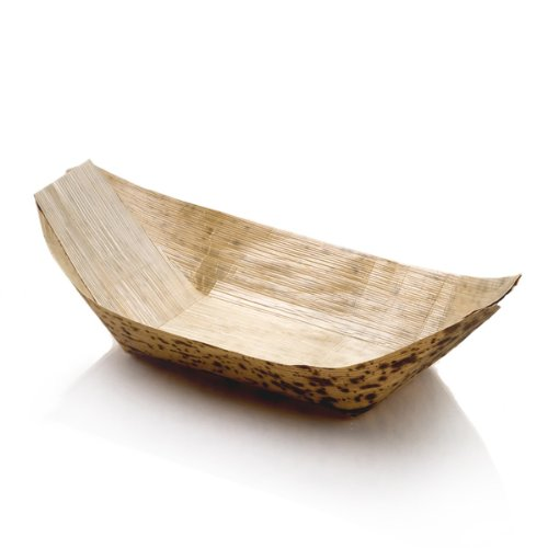 Bamboo Boat (Sweet Flavor Bamboo Leaf Boats 8.6 In. - Pack of 100)