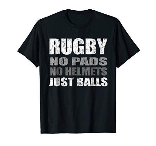 Rugby Just Balls Funny T Shirt For Players and Fans