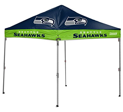 NFL Instant Pop-Up Canopy Tent with Carrying Case, 10×10