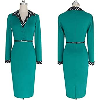 Green Casual Dress For Women