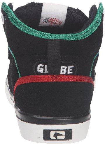 Globe Motley mid Kids GBKMOTMID - Zapatillas de ante para niños Negro (Schwarz (Multicolore (Black/Multi)))