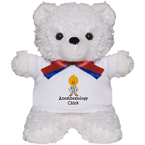 CafePress - Anesthesiology Chick - Teddy Bear, Plush Stuffed Animal