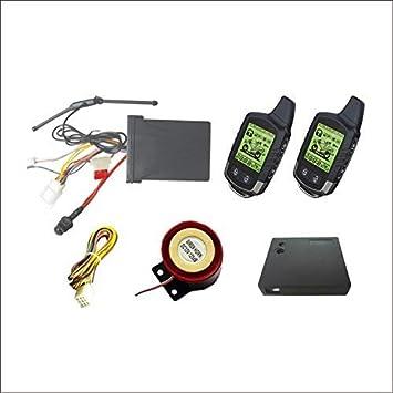 Kfzteileschnellversand24 - Sistema de alarma para motocicleta (compatible con motocicletas de 12 V)