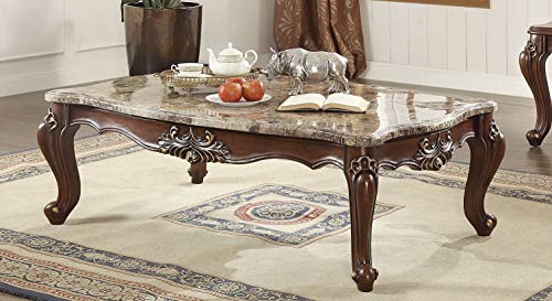 Major-Q Luxurious Traditional French Style Marble Top Coffee Table P7081050