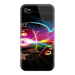 Case Cover Music/ Fashionable Case For Iphone 4/4s by runtopwell