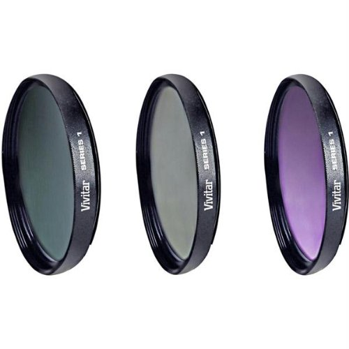 3 Piece Filter Kit for 52mm Lens-GB1661 by Vivitar