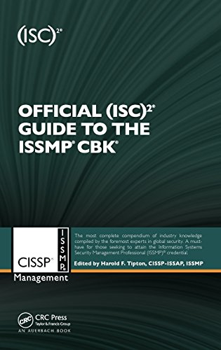 Official (ISC)2® Guide to the ISSMP® CBK® ((ISC)2 Press)