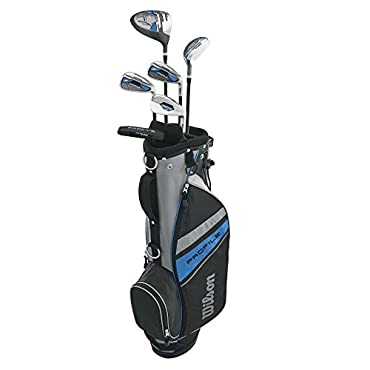 Wilson 2017 Profile Complete Junior Right Hand Golf Set, Blue (WGGC61000)