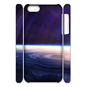 3D Abstract Outer Space iPhone 6 plus 5.5 Cases, Case for iPhone 6 plus 5.5 for Women Girls Pharrel - White