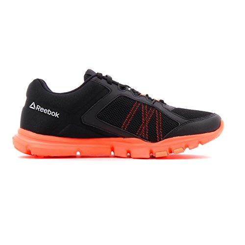 Reebok Bs8042, Zapatillas de Deporte para Mujer Negro (Black / Guava Punch)