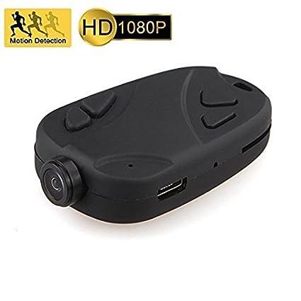 EPTEK @ 16 GB TF tarjeta +HD 1080P cámara oculta de espía gran angular llavero cámara ...