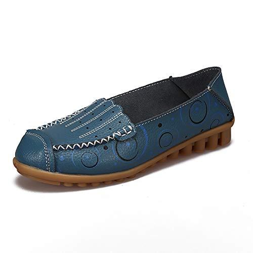 38 coloré EU Bleu Taille Blanc Chaussures ZHRUI zv7q66
