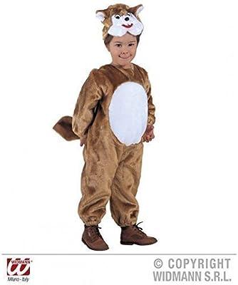 Marrón - disfraz de ardilla con gorro blanco para niños, disfraces ...