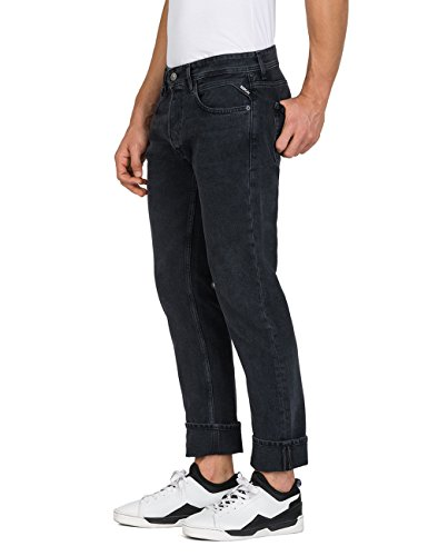 Noir Slim Grover Replay 98 Homme Jean Denim black vw4nqI