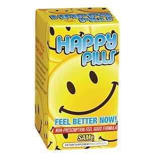 Brain Pharma Co - Happy Pills, 60 Capsules (Percocet)