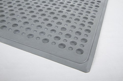 Petlinks Purr-Fect Paws Cat Litter Mat, Large, Gray by Petlinks (Image #4)