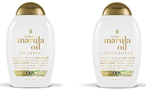 OGX MARULA OIL HYDRATE SHAMPOO+ CONDITIONER 13 oz ea