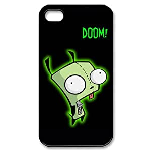 Lucky Grass - Gir Doom Pattern Iphone 4 & 4s Case Cover , Hard Shell Protector Back Cover Case for Iphone Apple 4 4s