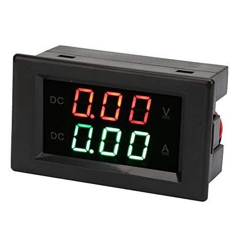 YB4835VA Dual Display Integrated Voltage Ampere Meter Panel Amp Volt Gauge DC 0~100V 20A Voltmeter Ammeter
