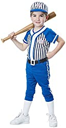 Boys Baseball Player Costume For Toddlers - 3T