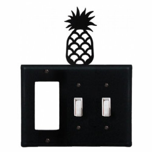 Pineapple - Single GFI and Double Switch (Pineapple Gfi Cover)