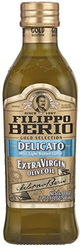 Filippo Berio Gold Selection Extra Virgin Olive Oil, Delicato Mild, 16.9 Ounce