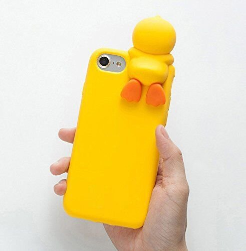 huge discount 31bd7 c06c5 3D Soft Silicone Yellow Duck Case for iPhone 6+ 6s+ iPhone6Plus 6Plus Large  Size Cute Lovely Cartoon Design Protective Special Chic Fashion Hot for ...