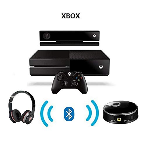 KOBWA Bluetooth 4.0 Receiver and Transmitter, AptX Low Latency 2-in-1 Wireless 3.5mm Bluetooth Transmitter for TV PC (2 Devices Simultaneously) by KOBWA (Image #3)