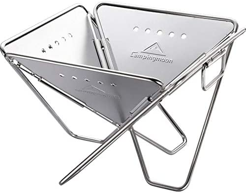 LW Barbecue Portable Barbecue Pliable Barbecue À Charbon Camping en Acier Inoxydable Barbecue Grill, pour Barbecue Camping Garden Party