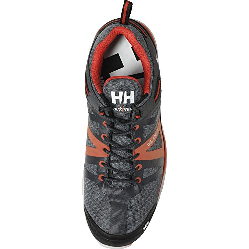 Helly Hansen Sicherheitsschuhe S3 SMESTAD ACTIVE Sportlicher Arbeitsschuh , Grau Orange 78213