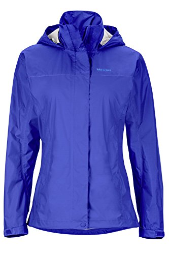 Marmot PreCip Women's Lightweight Waterproof Rain Jacket, Gemstone, Medium