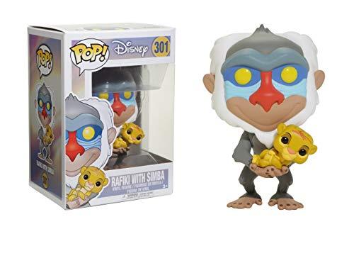 Funko Figura Pop Rafiki con Simba - Disney El Rey L