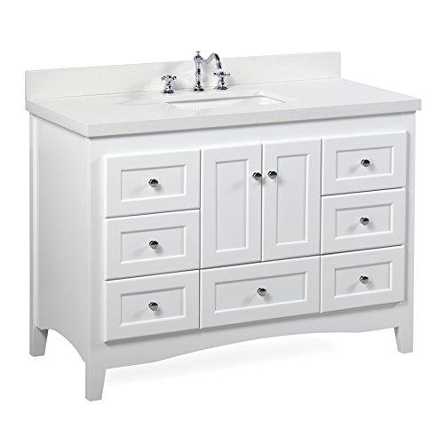 Compare Price White 35 Bathroom Vanity On