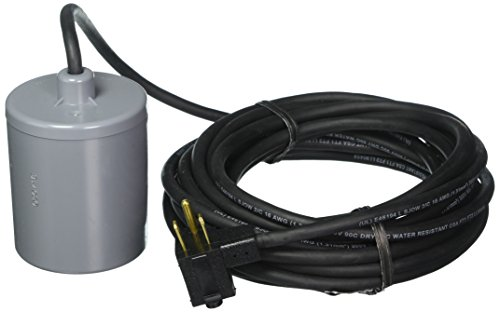 Little Giant RFSN-10 (599119) Remote Float Switch, 115/230V, 1/2-1HP, 25' cord