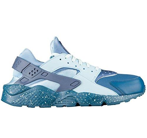 best cheap ac656 4e6f6 Galleon - NIKE Men s Huarache Run Premium Blue Force Diffused Blue Running  Shoe 8 Men US