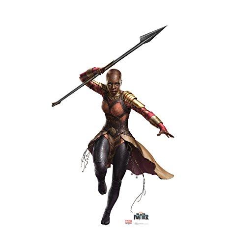 Okoye - Black Panther (2018 Film) - Advanced Graphics Life Size Cardboard Cutout Standup]()