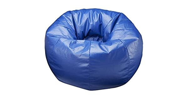 Excellent Amazon Com 132 Round Extra Large Shiny Bean Bag Multiple Spiritservingveterans Wood Chair Design Ideas Spiritservingveteransorg