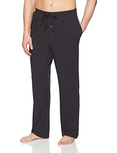 Amazon Essentials Men's Knit Pajama Pant, Charcoal Heather, Large by Amazon Essentials
