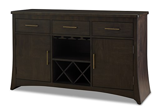 Somerton Dwelling 153D73 Novara Pachino Server, Charcoal by Somerton Dwelling
