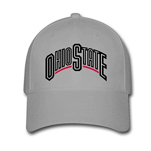 Woman Men Cotton Ohio State Buckeyes Adjustable hats Baseball caps (Ohio Cotton Cap)
